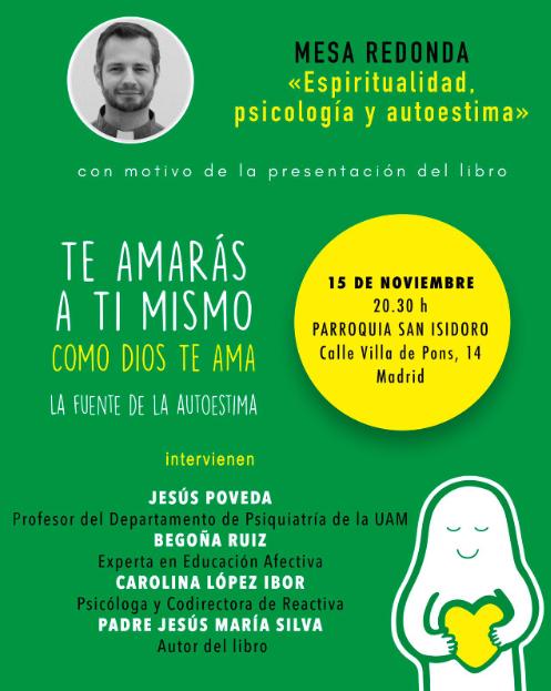 Mesa Redonda 15Nov 20:30 Iglesia S.Isidoro