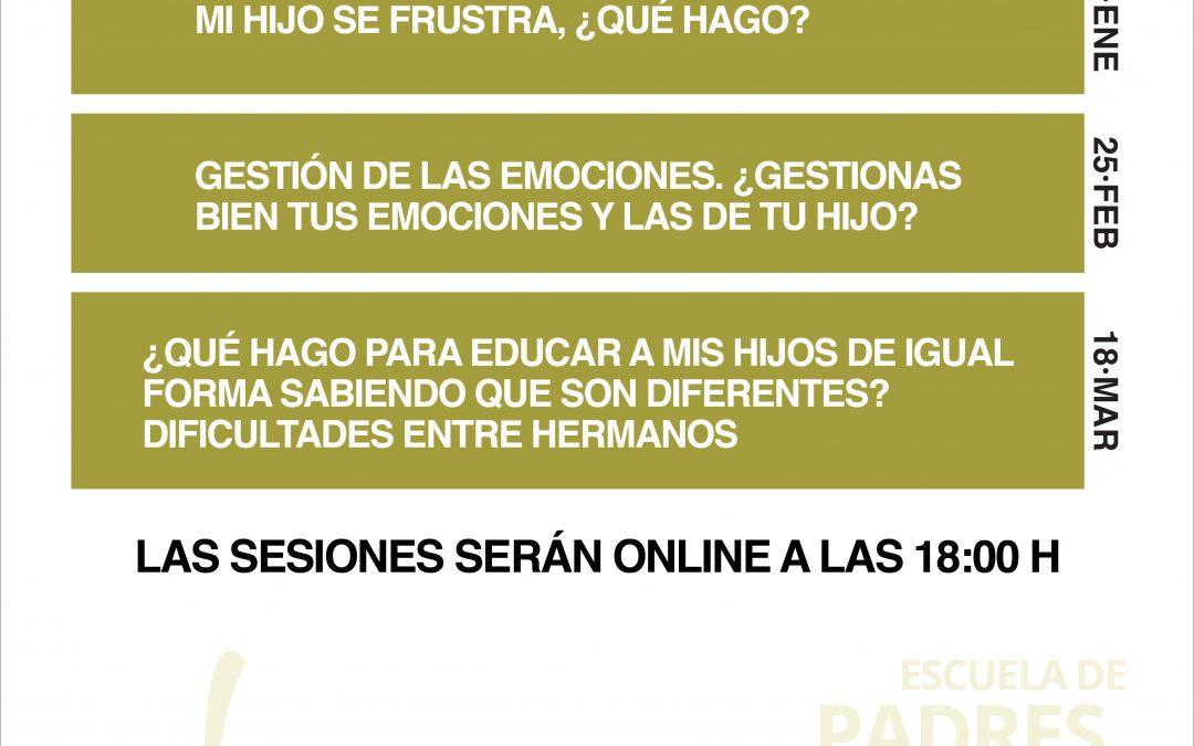 SESIONES ESCUELA DE PADRES
