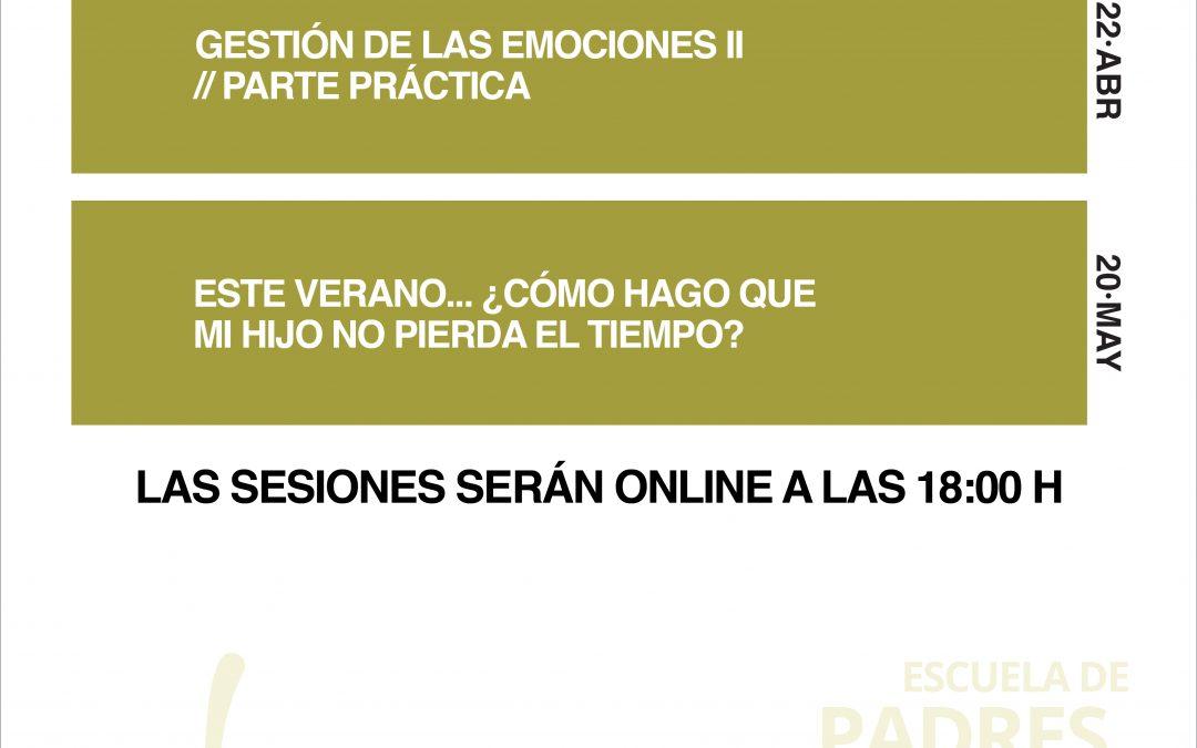 SESIONES ESCUELA DE PADRES (ABR-MAY)